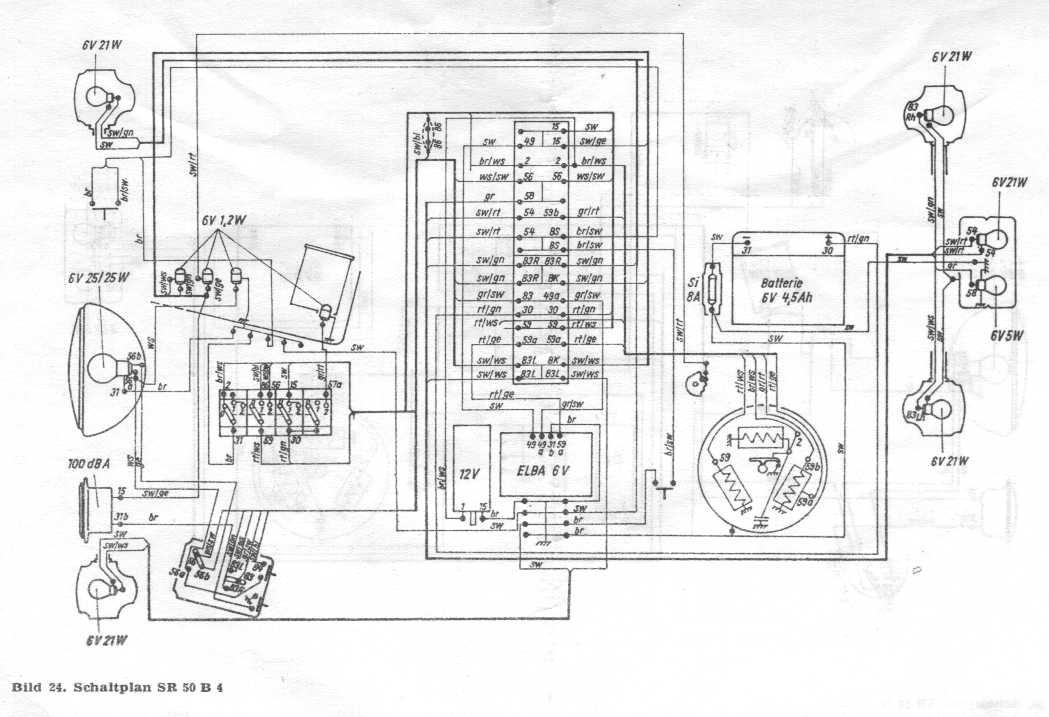 betriebsanleitung f r simson zweirad sr 50 sr 80 miraculis. Black Bedroom Furniture Sets. Home Design Ideas